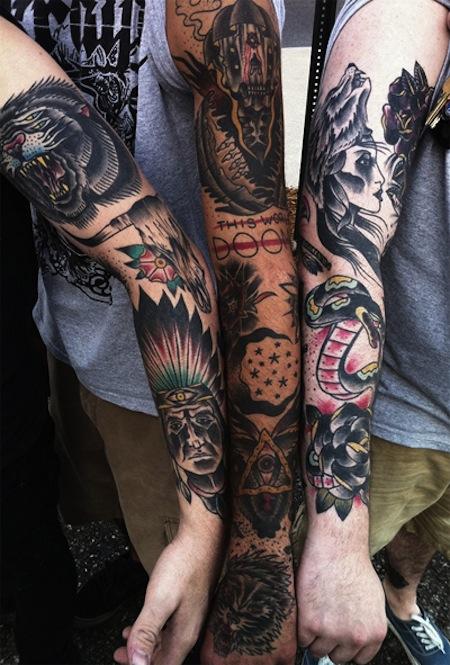 Leg Sleeve Tattoo Tumblr