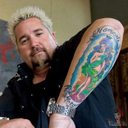 17 tattoos guy fieri
